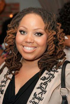 Love the hair @Yummy411! #locs