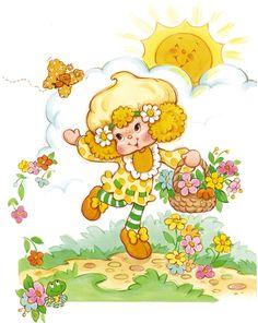 Vintage Kenner / American Greetings Strawberry Shortcake - Lemon Meringue
