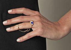 Delfina Delettrez 18K Gold Two In One Eye Ring