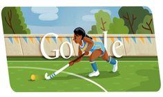2012 London Olympic Games Google Doodle #Field Hockey