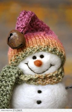 snowman...SO CUTE AND HAPPY