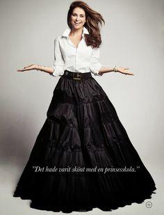 Princess Madeleine + Elle
