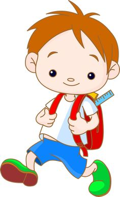 "Photo from album ""Школьники"" on Yandex. School Boy, Art School, Back To School, School Children, Art Drawings For Kids, Drawing For Kids, Clipart, Portfolio Kindergarten, Animation Schools"