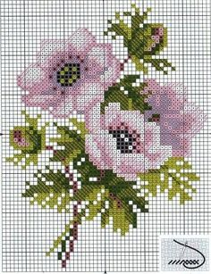 "cross stitch chart. [ ""This website is for sale! is your first and best source for all of the information you're looking for. From general topics to more of what you would expect to find here, has it all. We hope you find what you are searching for!"", ""Anemones • these are gorgeous"", ""М [ \""М [ \\\""Lovely heart thi"", ""Flower chart"" ] # # #Cross #Stitch #Charts, # #Cross #Stitch #Patterns, # #Flowers #Cross, # #Peony #Cross, # #Embroidery #Flowers, # #Colo..."