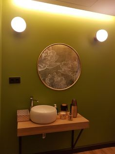 Mirror, Bathroom, Furniture, Home Decor, Round Bathroom Mirror, Mirrors For Bathrooms, Home, Washroom