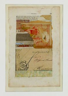 "Michael Pauker, Halinea, 2000 Collage 20 x 16"" framed Retail: $1,000 Courtesy of the Artist"