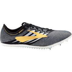 Brooks Men's ELMN8 V4 Track and Field Shoes, Black