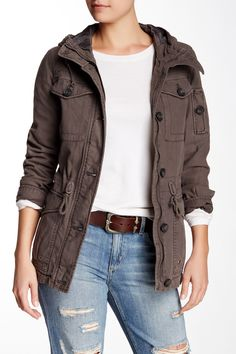 Levi's | Hooded Military Jacket | Nordstrom Rack