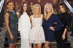 The Spice Girls announce details of 'Viva Forever' a West End Jukebox Musical based on their hits | St. Pancras Hotel | London | June 26