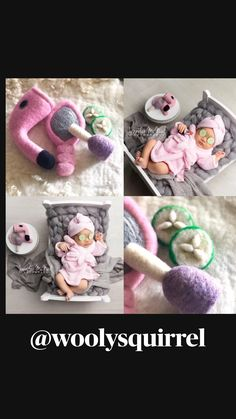 Coffee Pics, Coffee Pictures, Newborn Photo Props, Newborn Photos, Felt Toys, Felt Animals, Textile Art, Needle Felting, Newborn Photography