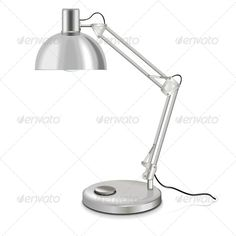 Realistic Graphic DOWNLOAD (.ai, .psd) :: http://jquery.re/pinterest-itmid-1005249128i.html ... Vector Table-Lamp ...  design, desk, detailed, energy, gray, halogen, home, icon, illustration, image, isolated, lamp, light, lighting, lit, object, office, power, reading, realistic, shiny, steel, technology, vector, white, working  ... Realistic Photo Graphic Print Obejct Business Web Elements Illustration Design Templates ... DOWNLOAD :: http://jquery.re/pinterest-itmid-1005249128i.html