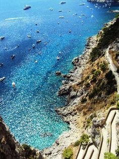 You can't go worong with a vacation destination like Capri, Italy. Been there, done that! I can check this off my travel dreaming bucket list.