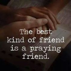 A few names come to mind & I'm so thankful for every one of them!