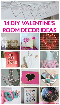 14 Valentine's Room Decor Ideas to get you in the mood for Valentines Day!