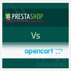 Prestashop Vs #Opencart #Prestashop is an award winning free open source e-commerce shopping cart platform with a huge online community, over 125000 online stores and extensive feature list including:  Site Management Search Engine Optimization Analytics & Reporting Localizations/Taxes Shipping & Payments