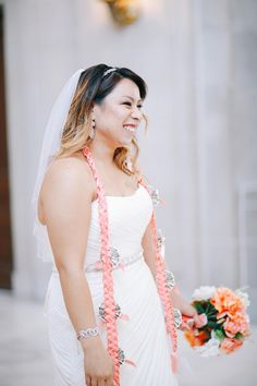 Beautiful bride! http://brownsparrowwedding.com/classic-san-francisco-city-hall-wedding-rodelyn-randy/?utm_content=buffer50b00&utm_medium=social&utm_source=pinterest.com&utm_campaign=buffer Kat Ma #bride #bridalinspiration #gettingmarried