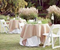 35 best burlap tablecloth images lace rustic wedding theme rh pinterest com