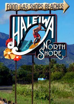 ❤️ Laid-Back Haleiwa, North Shore, Oahu.