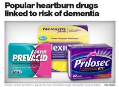 Popular heartburn drugs linked to risk of dementia | A popular class of heartburn medications might raise a senior's risk of dementia, a new study suggests.
