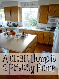 Have you ever noticed that it doesn't matter how beautifully decorated a home is, how large it is, how many modern appliances it has or how much money is spent on it? These things are not what make it beautiful. It is a clean home that makes it pretty.