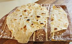 Homemade Fresh Flour Tortillas
