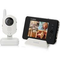 Using a baby monitor system for room monitoring by caregivers