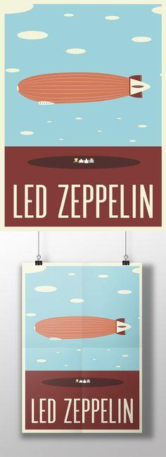 Esse poster do Led faz parte de uma série que estamos fazendo pra decorar a casa da S6is. :) www.s6isdesign.com.br