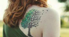 Galería de Fotos de Tatuajes de arboles