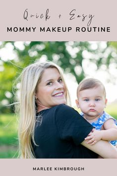Feel like you have no time to wear makeup as a mom? Here's my favorite products that make feeling put together as a new mom easy!