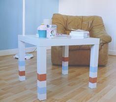 Personnaliser la table Lack de Ikea