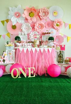 Pretty in Pink•Angelina's Bday | CatchMyParty.com