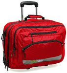 """BlackWolf Scoot 17"""" Laptop Wheel Bag Chilli SCOOT - laptop compartment zips off.  Quite like this conceptually"""