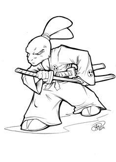 Usagi Yojimbo by AdamWithers