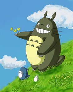 Featured in this collection is one of my all time favourite anime characters - Totoro from 'My Neigbor Totoro' by the legendary Hayao Miyazaki and Studio Ghibli Half Japanese, Anime Scenery Wallpaper, Ghibli Movies, My Neighbor Totoro, Hayao Miyazaki, Kawaii Anime, Anime Characters, Funny Animals, Anime Art