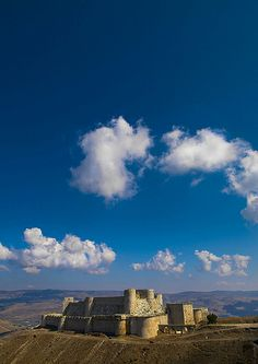 """Krak des Chevaliers: """"The castle you see today is essentially unchanged from the 12th and 13th centuries."""" © Eric Lafforgue Syria: the Bradt Guide www.bradtguides.com"""