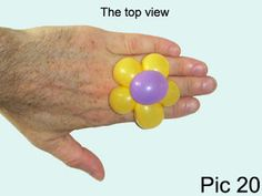 Balloon-O-Therapy Twisting Balloons with FewDoIt: Flower Five Petals Ring Balloon Twisting