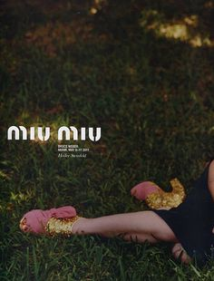 hailee steinfeld for miu miu, 2011  http://fromheretofashion.blogspot.com/