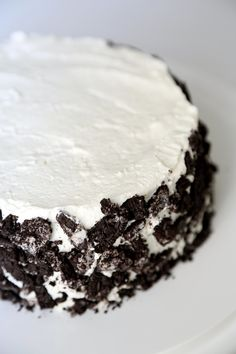 If you don't like to bake, this recipe is for you! An icebox cake requires a refrigerator — not an oven.