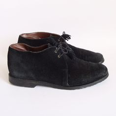 suede booties from old baltimore vintage