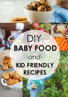 Healthy Food for Kids and babies
