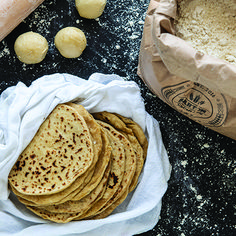 Makes about a dozen 6-inch tortillas • Photography by Casey Woods