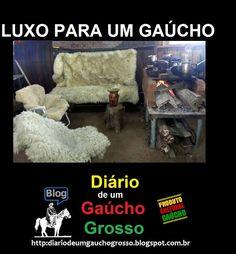 Diário de um Gaúcho Grosso: LUXO PARA UM GAÚCHO