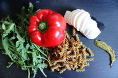 [Rezept] Sommerlicher Pesto - Nudelsalat