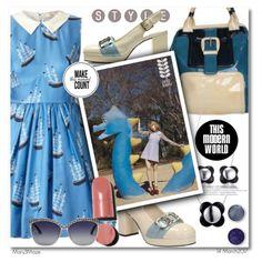 Blue Sailboat Dress - Orla Kiely