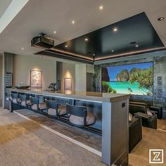 Interior Trim, Best Interior, Interior Design, Golf Room, Golf Simulators, Painting Trim, Funky Furniture, House Numbers, Lounge Areas