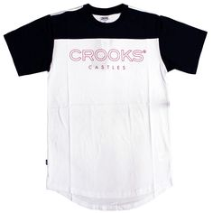 CROOKS & CASTLES LEVELS FOOTBALL T-SHIRT TRUE NAVY WHITE £44.99 http://www.everythinghiphop.com/Crooks-and-Castles #lifestyle #luxury #hiphopclothing #iwantoneofthose #tshirts