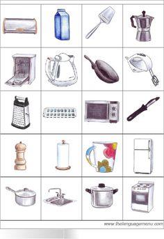 bingo des objets le plus courants
