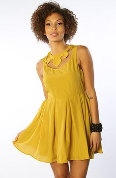The Dear Doctor Dress in Harvest Yellow
