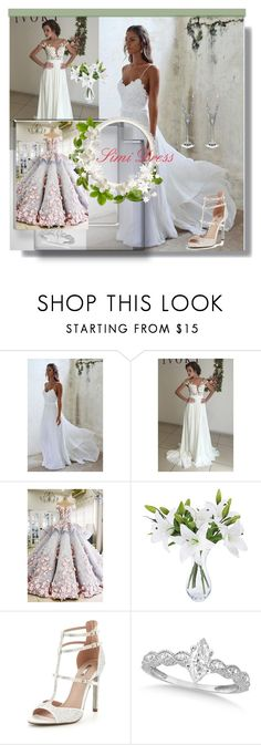 """""""Make your dreams happy / Simi Dress 7"""" by lightstyle ❤ liked on Polyvore featuring Carvela, Allurez and Waterford"""
