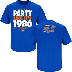 New York Mets Fans  I Wanna Party Like It s 1986 t-shirt. Ny 6cf0fa3dd